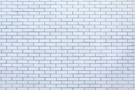 Texture background of white brick wall.