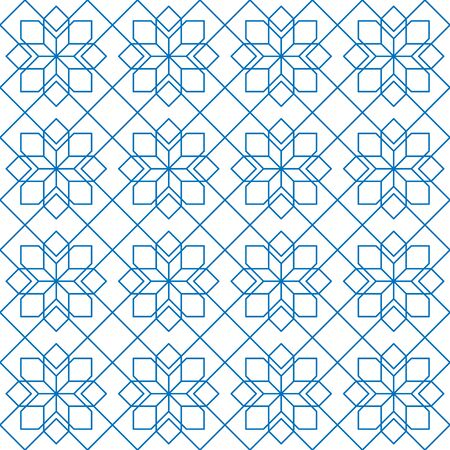 Abstract pattern in Arabic style. Seamless geometric pattern.