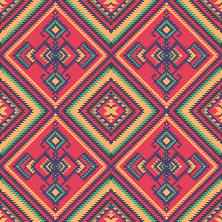 Ethnic seamless pattern. Stock Illustratie