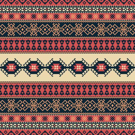 Ethnic seamless pattern. Illustration