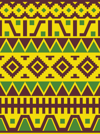 Ethnic Peruvian ornament. Geometric seamless pattern.
