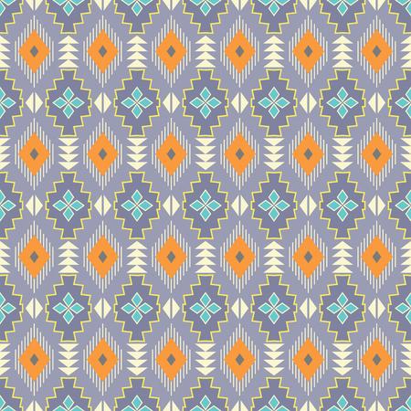 Geometrische Azteekse navajo-print. Etnische tribale naadloze patroon.