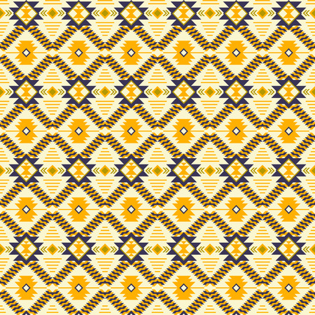 Aztec navajo geometric print. Ethnic seamless pattern. Fabric design, wallpaper, wrapping.