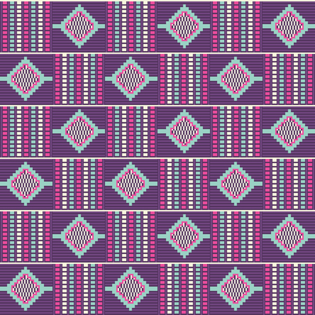 African kente print, traditional fabric  from Ghana, Ankara cloth. Seamless pattern.