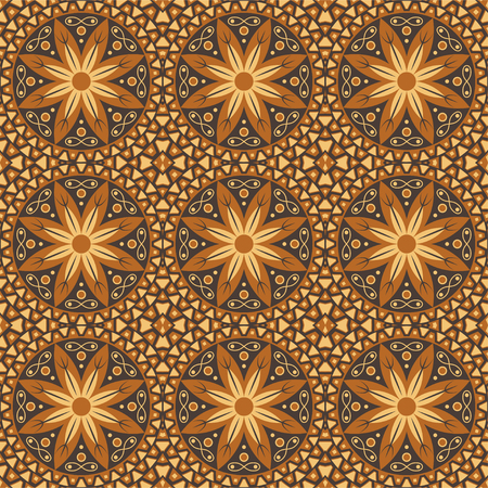 Ethnic seamless pattern. African textile. Vector tribal art. Иллюстрация