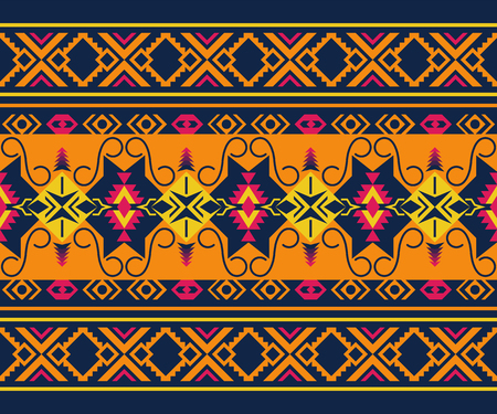 Ethnic seamless pattern. Tribal kilim. Mexican, Aztec, Boho print. Geometric design.