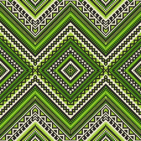 Ethnic geometric ornament. Aztec, Mexican, Navajo, African seamless pattern. Tribal folk art. 版權商用圖片 - 125512968
