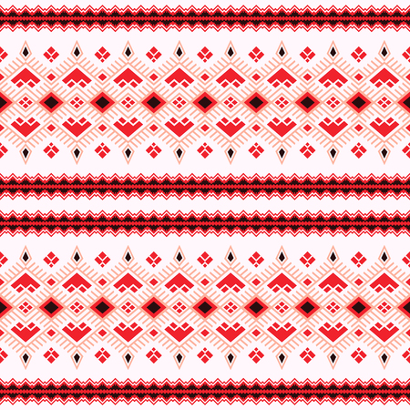 Ethnic seamless pattern with Aztec, Moroccan, Berber, Mexican motives. Tribal kilim. Geometric design.