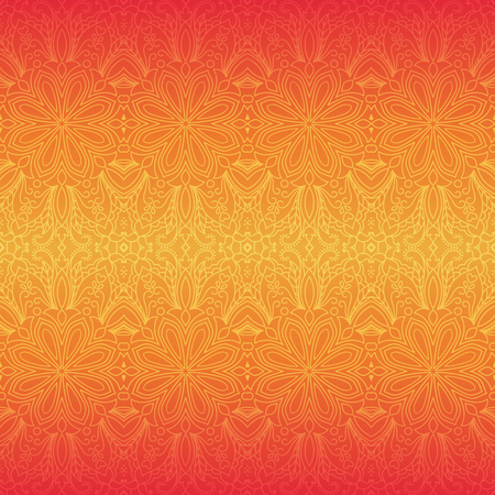 Ethnic seamless pattern with mandalas. Hand drawn background with floral ornaments.