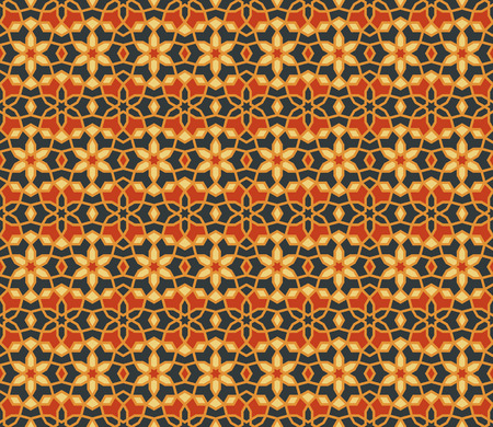 Arabic geometric seamless pattern. Islamic background design.