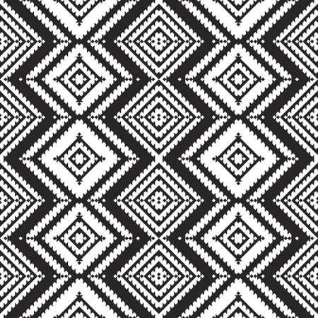 Mexican seamless pattern. Aztec, Navajo geometric print. Ethnic design wallpaper, fabric, cover, textile, rug, blanket.