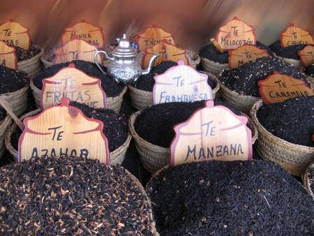 Tea on arabi market photo