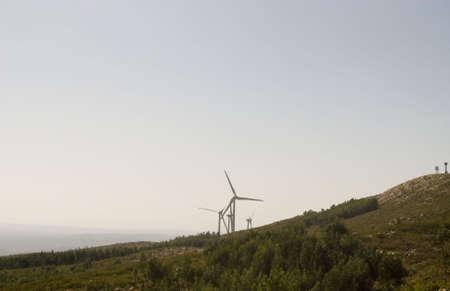 landsape:  landsape in mountains of Algarve  Stock Photo