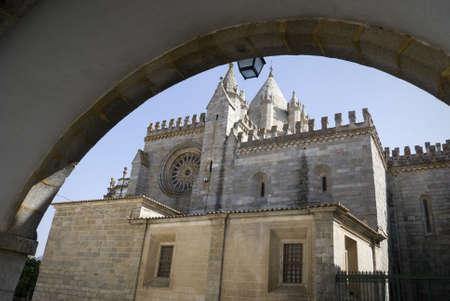Cathedral in Evora, Portugal