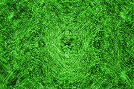 The Abstract background  green  and black  color Stock Photo