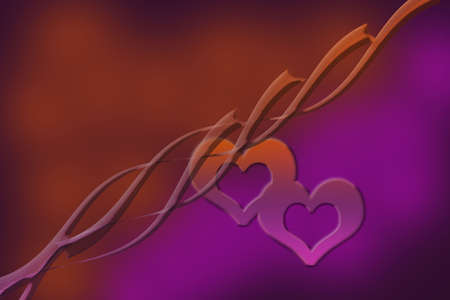 The Valentines abstract background with a red heart photo