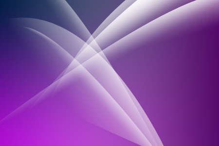 Abstract white curves on the violet backgrond photo