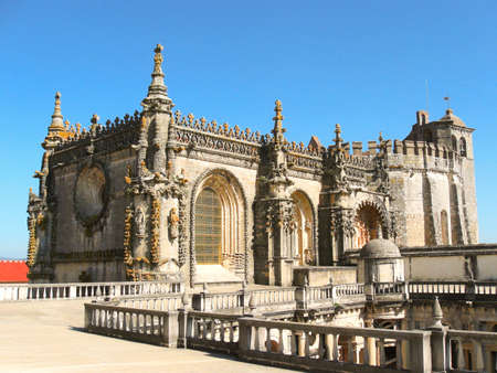Convent of Christ in Tomar, Portugal, UNESCO world heritage list Stock Photo