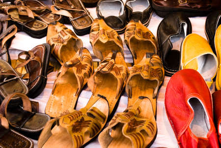 The varies of shoes on the market Stock Photo - 7079718