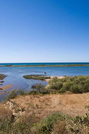 Landscape on Atlantic ocean in Portugal