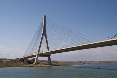 brige: Brige  on river Guadiana between Spain and Portugal