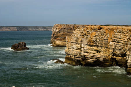 The beach on Algarve coast, Portugal Stock Photo - 20366543