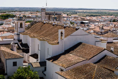 View of portugal city in Alentejo  in Portugal photo