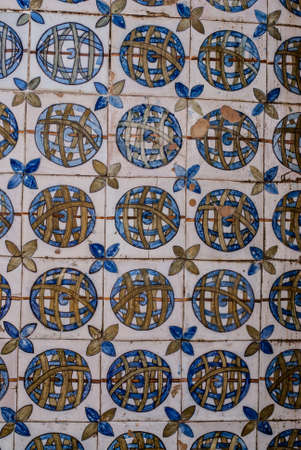 Portugues Old ceramic tiles  photo
