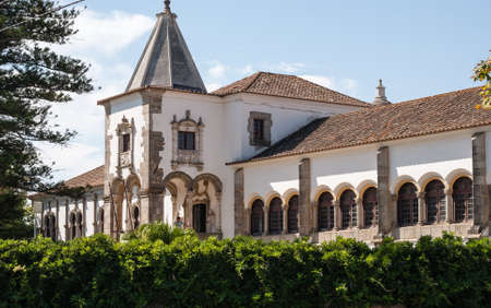 Evora (Portugal), recognised as an UNESCO World Heritage Site. Stock Photo