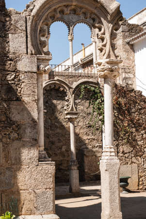 Evora (Portugal), recognised as an UNESCO World Heritage Site. Editorial
