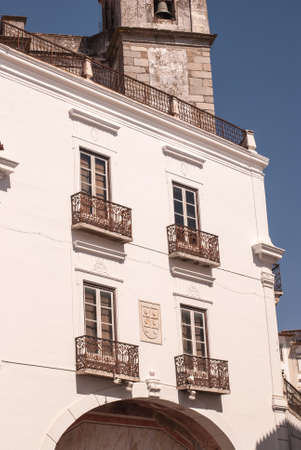 Evora (Portugal), recognised as an UNESCO World Heritage Site.