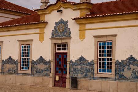 Sines railway station building