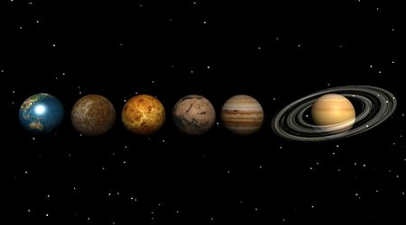 planets in the univers Stock Photo - 5112253