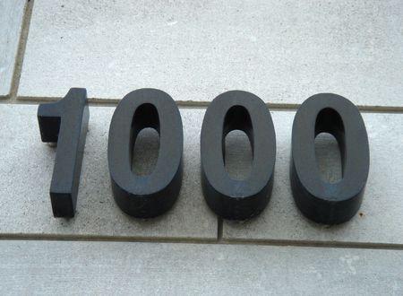 1000 Stock Photo