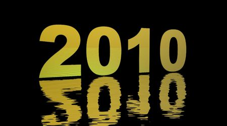 2010 yellow and black Stock Photo - 5402293