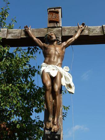 Jesus on the cross Stock Photo - 5597848