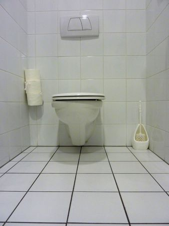 White toilet Stock Photo - 5597828