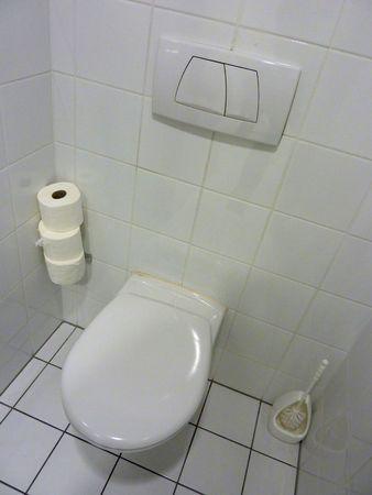 White toilet Stock Photo - 5597835