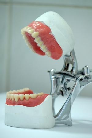 zatkanie: Dental wyraziciel laboratorium i białe tło laboratorium