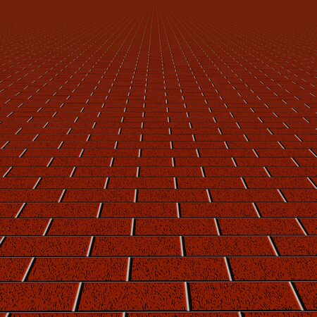 Red brick wall texture for background Stock Photo - 12270206
