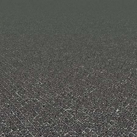 ashlar: Perspective of small grey stones for texture background