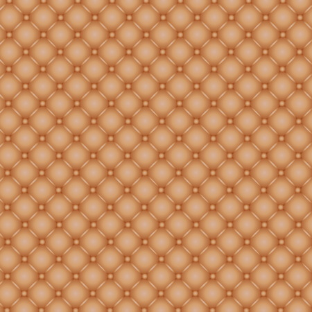 button tufted: Brown button tufted leather as a background