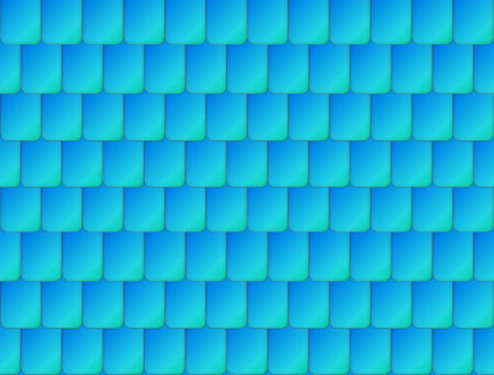 roof shingles: Seamless nice blue color roof tiles texture