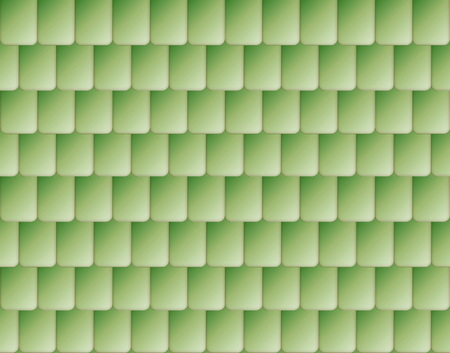 shingle: Seamless nice green color roof tiles texture Stock Photo