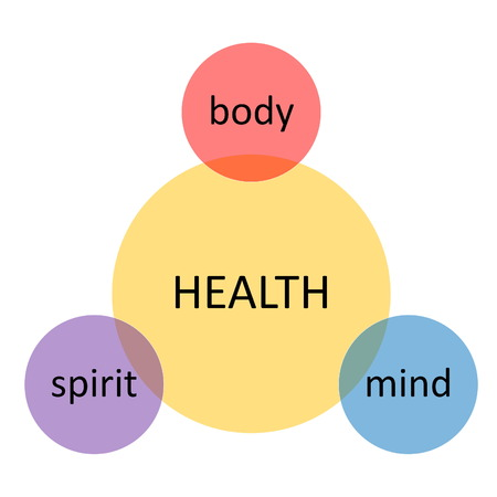 Schéma de santé Banque d'images