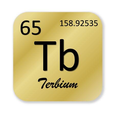 tb: Terbium element