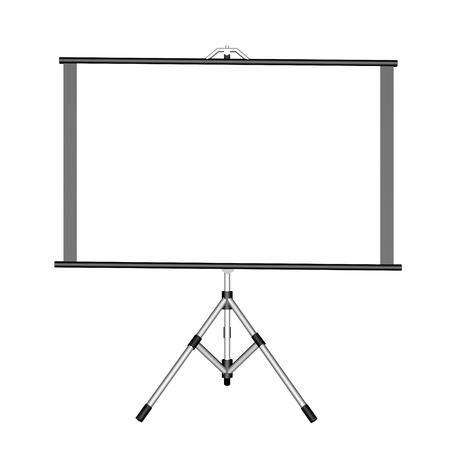 movie screen: Movie screen - 3D render