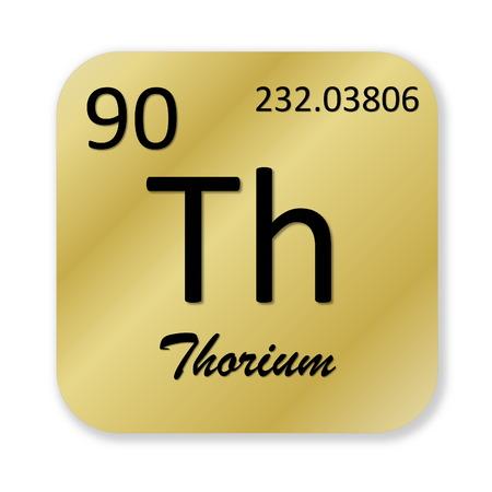 Thorium element photo