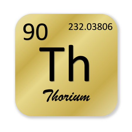 Thorium element photo