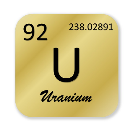 isotope: Uranium element Stock Photo